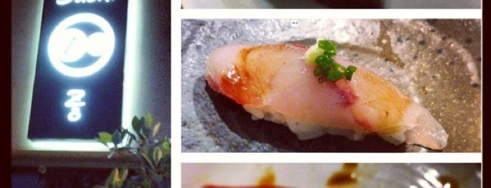 Sushi Zo is one of Michelin Star - LA.