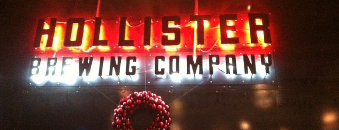 Hollister Brewing Company is one of breweries.