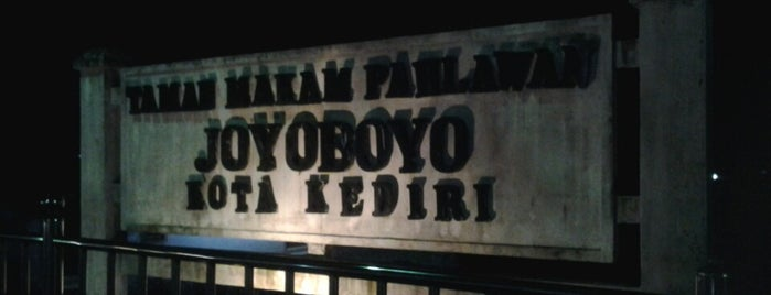 Taman Makam Pahlawan Joyoboyo is one of Best places in Kediri, Indonesia.