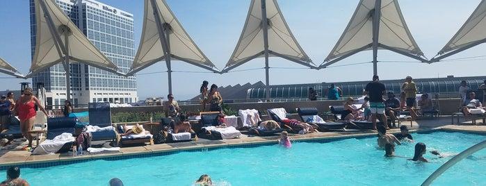 Omni Hotel Roof Top Pool is one of San Diego.