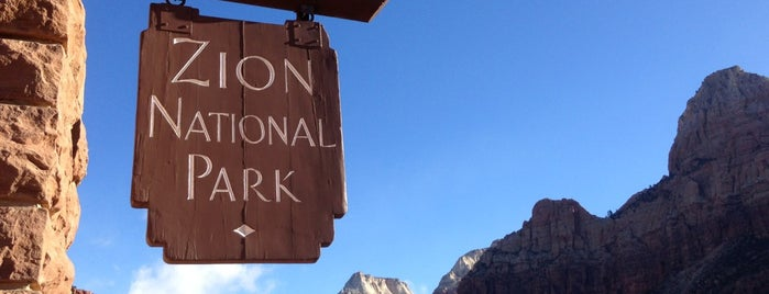 Zion National Park is one of USA Trip 2013 - The Desert.