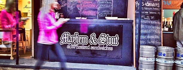 Mayhem & Stout is one of New York III.