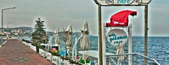 Yakamoz Cafe is one of Urla.