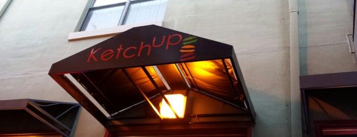 Ketchup Burger Bar is one of Burgers.