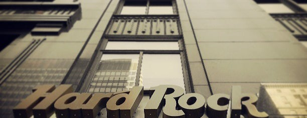 Hard Rock Hotel Chicago is one of Bus Shuttle and Transportation Planning Services.