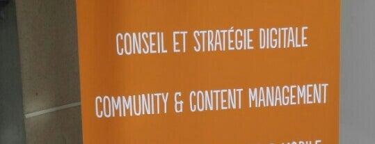 be angels is one of Agences Com' & Médias Sociaux parisiennes.
