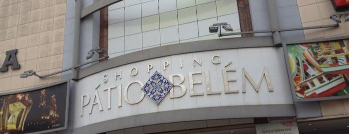Shopping Pátio Belém is one of meus lugares favoritos.