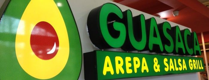 Guasaca Arepa & Salsa Grill is one of Raleigh Favorites.