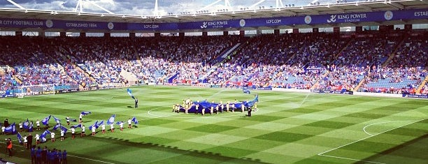 King Power Stadium is one of Venues....