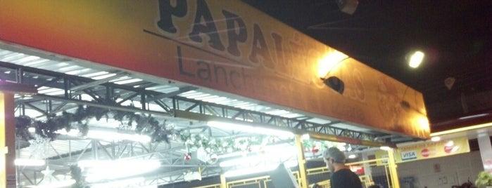 Lanche Papaléguas is one of locais.