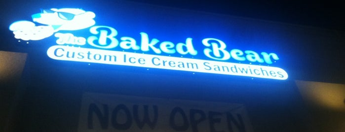 The Baked Bear is one of San diego CA 🌴.