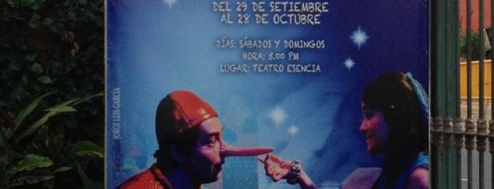 Espacio Teatro Esencia is one of ii.