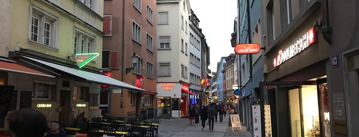 Niederdorfstrasse is one of Places to be when in Zurich.