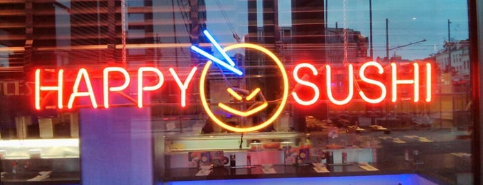 Happy Sushi is one of ET0N in Rotterdam.