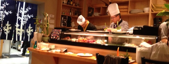 To-Ne Sushi is one of Restos to try.