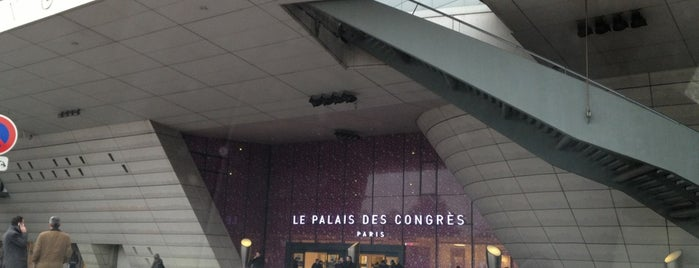 Palais des congrès de Paris is one of Broadcast & Media.