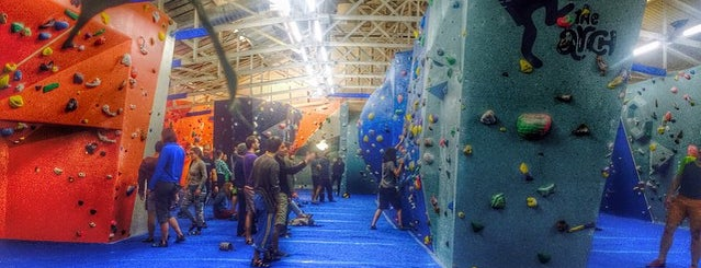 The Arch Climbing Wall is one of Evermade.com.