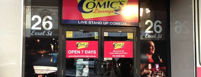 The Comic's Lounge is one of Peace Day Comedy with ThinkPEACE.net.