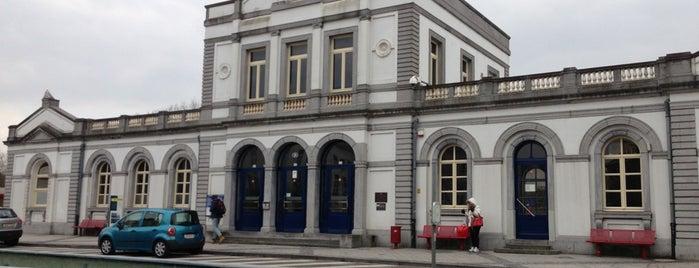 Station Ronse is one of Bijna alle treinstations in Vlaanderen.
