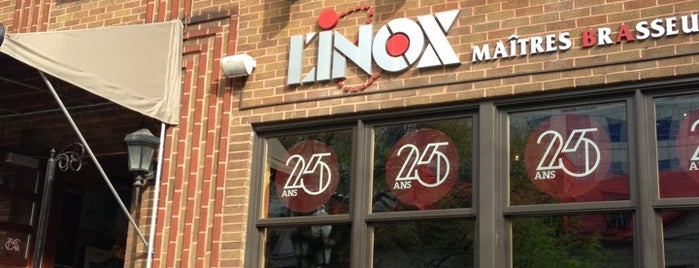 L'Inox Maîtres Brasseurs is one of Microbrasseries Québec.