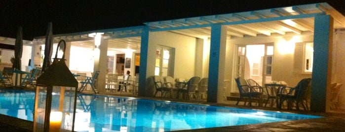 Minois Village Hotel Suites & Spa is one of Paros Top.