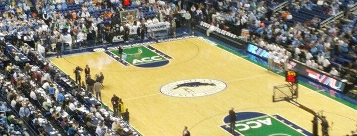 Greensboro Coliseum Complex is one of Venues....