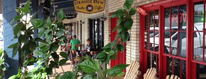 Strange Brew Austin Coffee is one of Austin Freelance Work Spots.