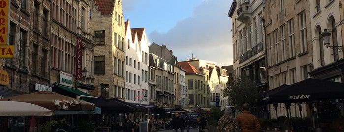 Oude Koornmarkt is one of Antwerpen.