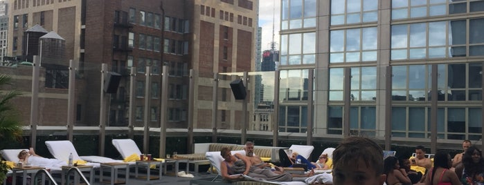 Gansevoort Park Rooftop Pool is one of NYC Manhattan 14th-65th Sts & Central Park.