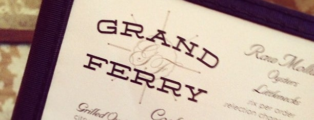 Grand Ferry Tavern is one of A list of spots.