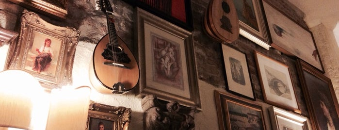 "Trattoria ""Il Mandolino"" is one of Food."