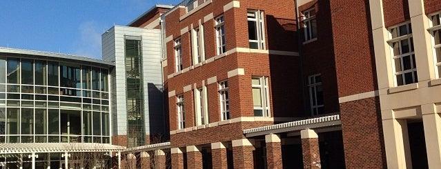 Nau Hall is one of Unusual UVA Study Venues.