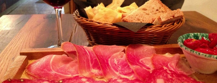 Tuscanic is one of London food.