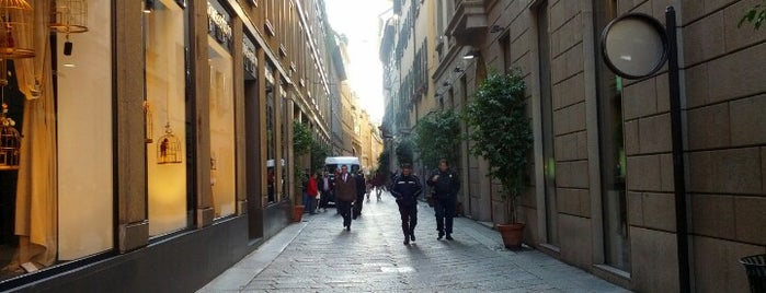 Via Della Spiga is one of Best places in Milan.