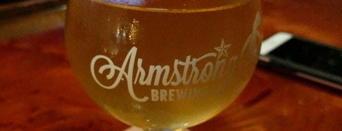 Armstrong Brewing Company is one of SF todo.