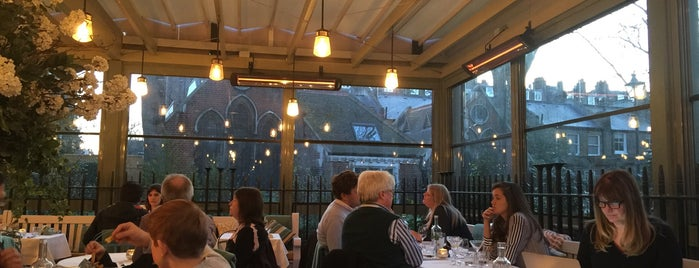 The Ivy Kensington Brasserie is one of London to try.