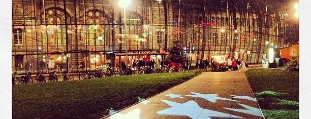 Place de la Gare is one of Strasbourg - Capitale de Noël - #4sqcities.