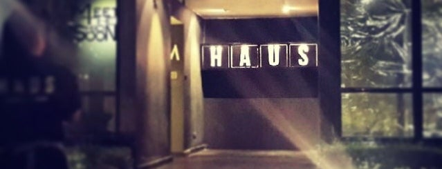 HAUS - Café × Bar is one of Bangkok Gastronomy.
