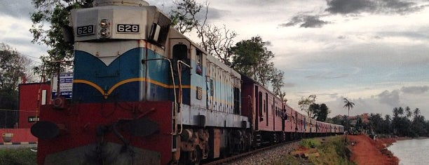 Kalutara Railway Station is one of Railway Stations In Sri Lanka.