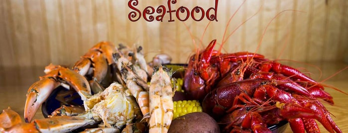 Cajun Greek - Seafood is one of The 15 Best Places for Burgers in Galveston.
