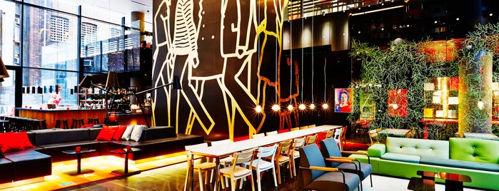 citizenM Hotel New York Times Square is one of The 15 Best Hotels in New York City.