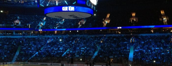 Rogers Arena is one of NHL Arenas.