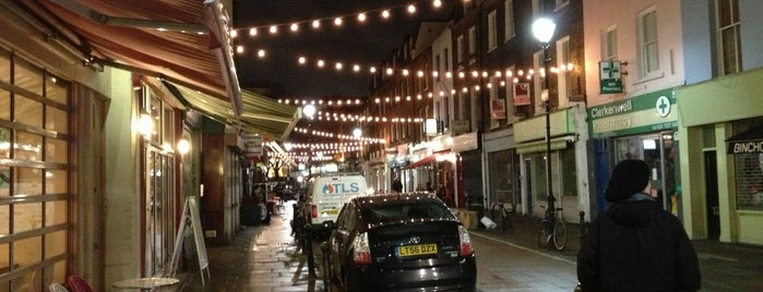 Exmouth Market is one of London.