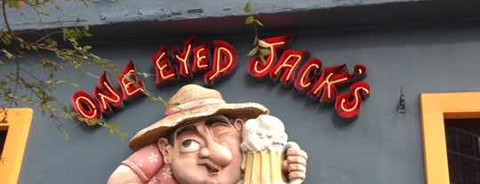 One Eyed Jacks is one of Douchebag.