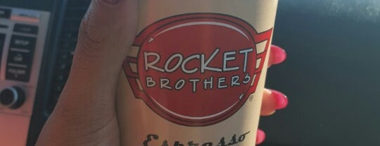 Rocket Brothers is one of The 13 Best Places for a Hot Chocolate in Tulsa.