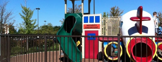 Dulles 28 Centre Playground is one of Fun and Entertainment.