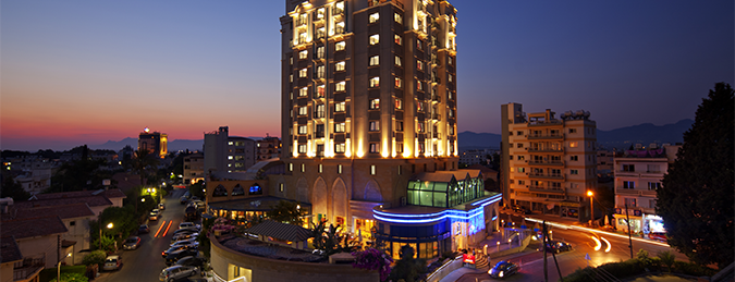 Merit Lefkoşa Hotel & Casino is one of Mekanlarım.