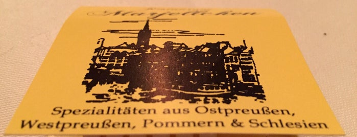 Marjellchen Restaurant is one of berlin love.
