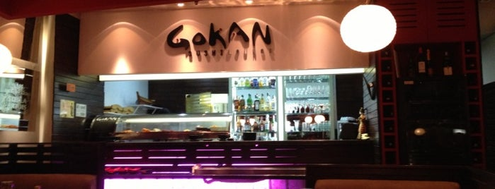Gokan Sushi Lounge is one of Favorites.