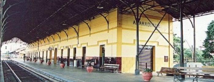 Estação Ferroviária de Araraquara is one of Araraquara - places.